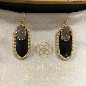 Kendra Scott Elle Earrings with Druzy Stone